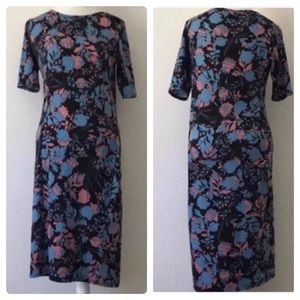 Lularoe Julia Multicolor Floral Stretchy Dress